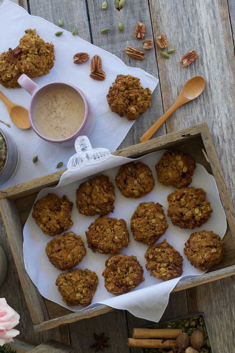 Carrot and Ginger Cookies