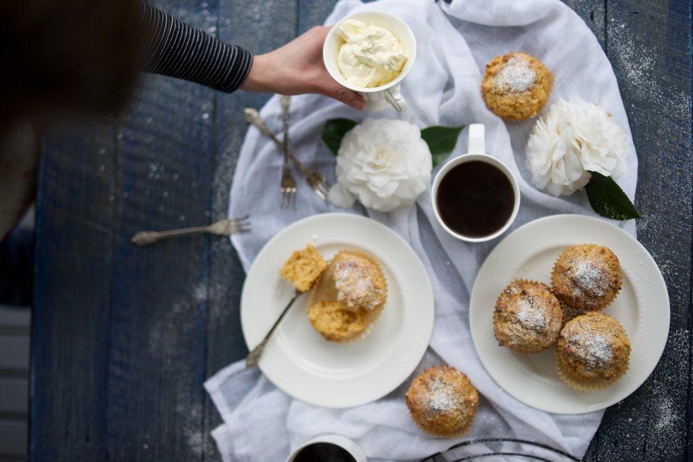 Pumpkin and Apple Muffins