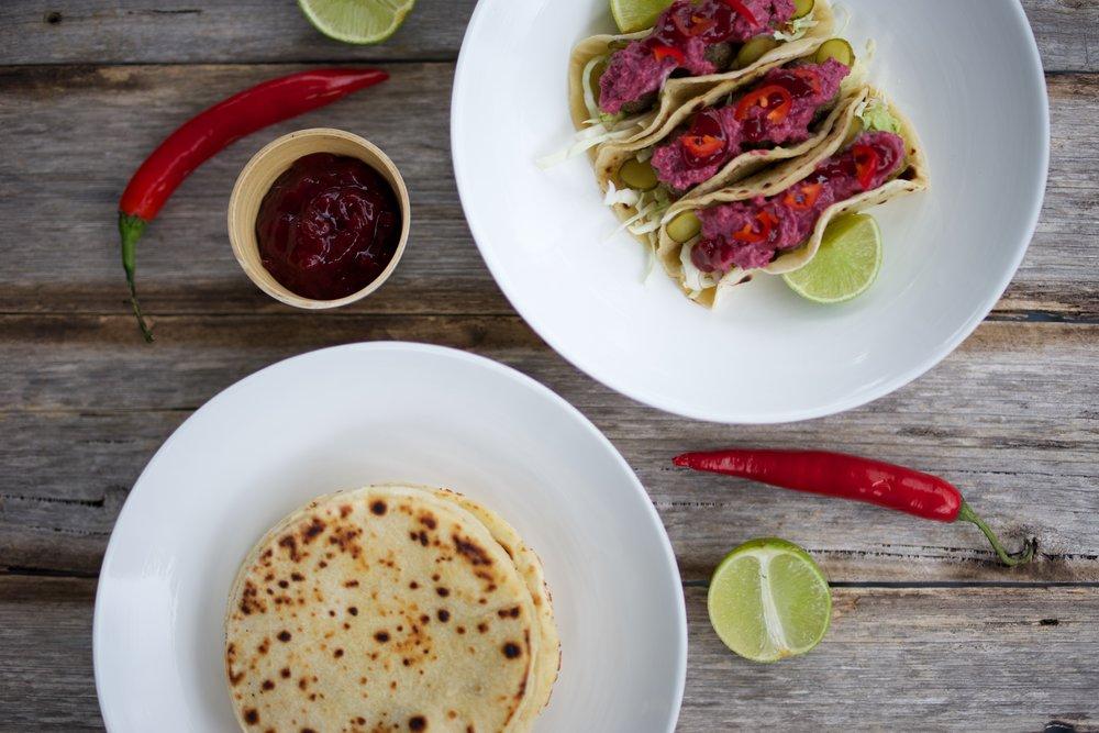 Finnish Meatball Tacos