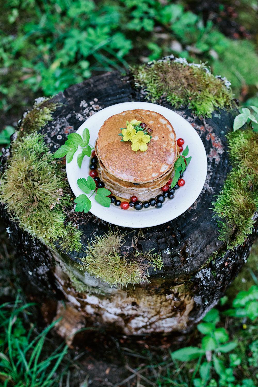 Pancakes on a fairy stump