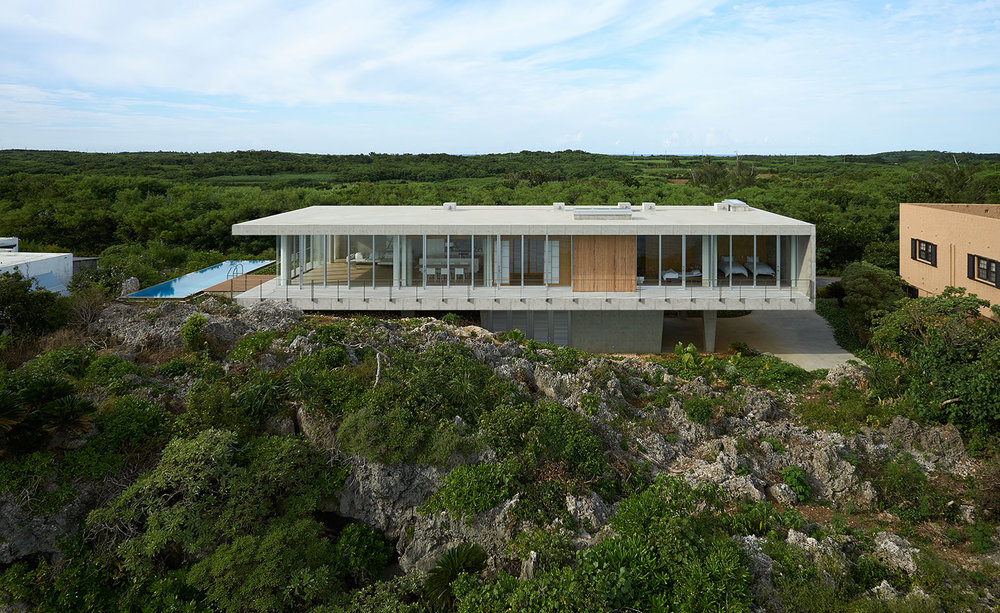 Okinawa Cliff-top Retreat
