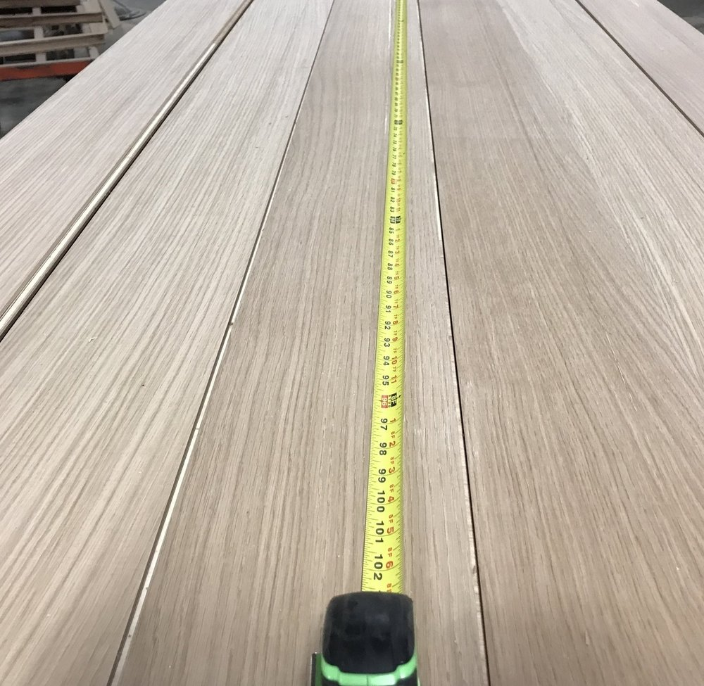 "Virtu Special Rift - unfinished 8"" rift sawn engineered white oak flooring"