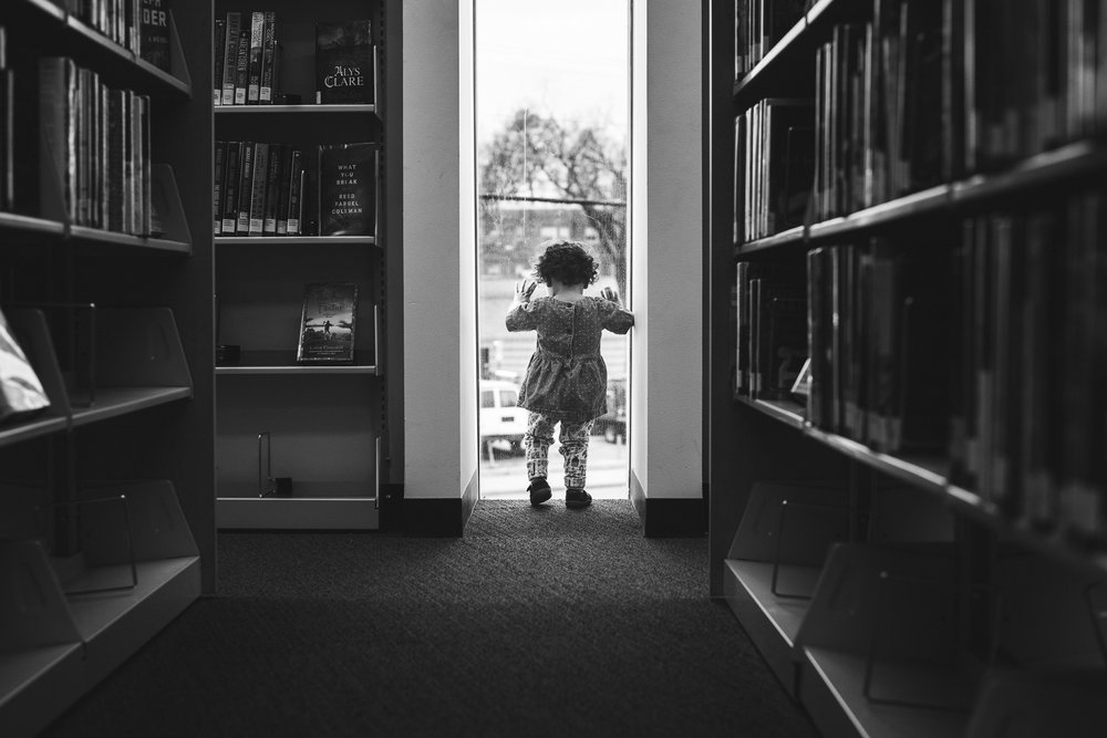 dc photoshoot window library family