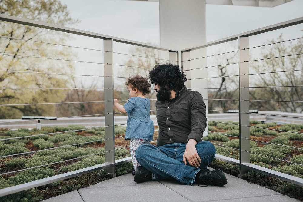 dc dad daughter photo outdoors candid