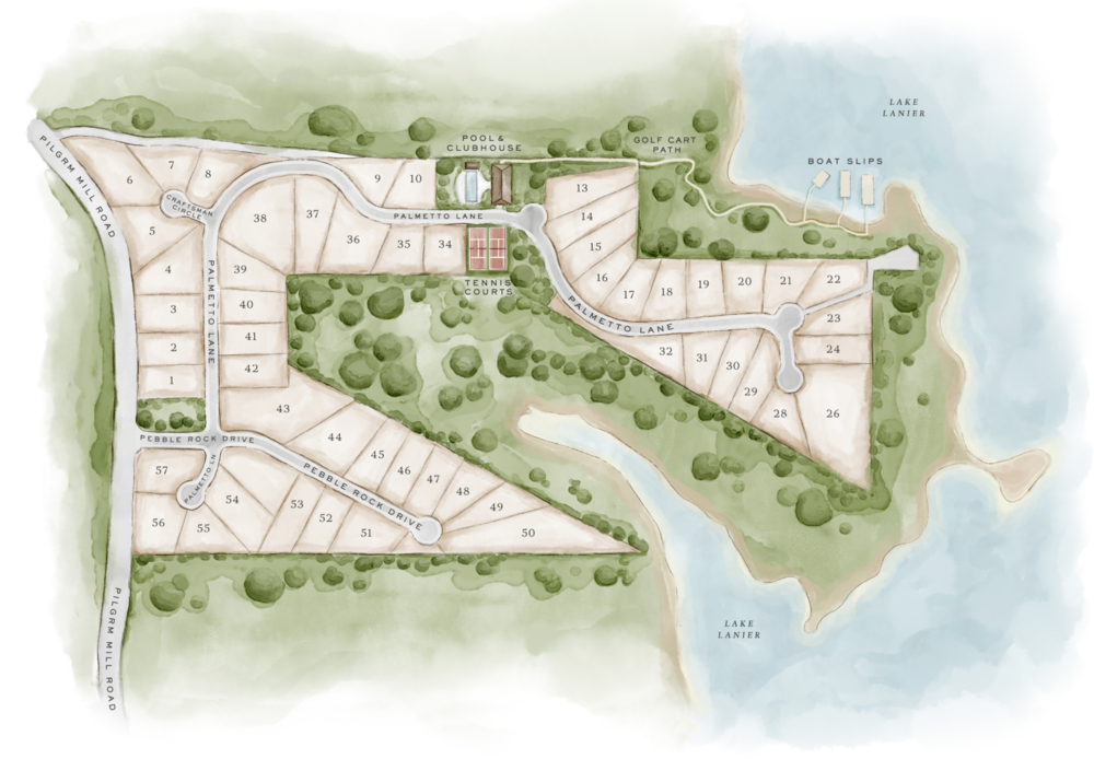 Hickory Lakeside Site Plan