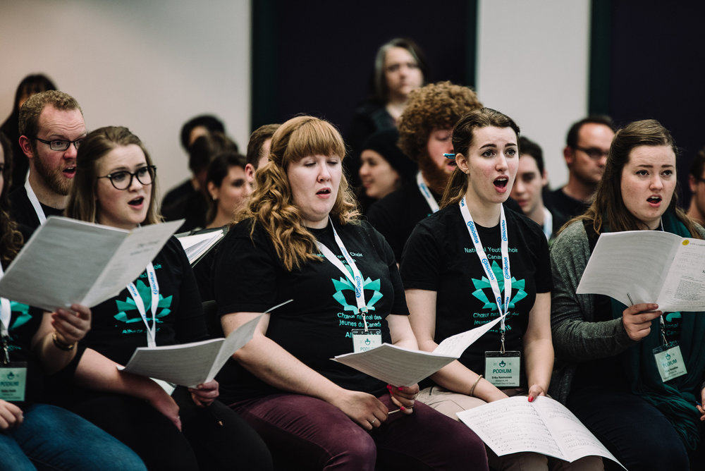Podium 2016 Student Conducting Masterclass: National Youth Choir