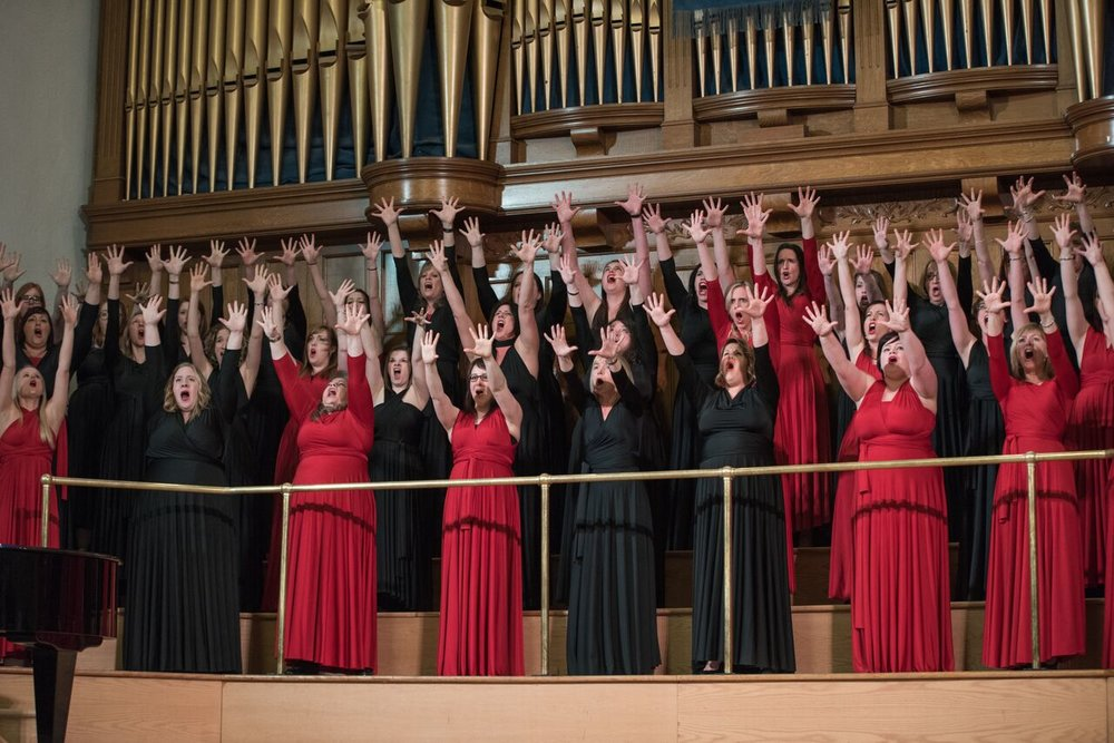 Podium 2016: Lady Cove Women's Choir - Photo credit Friday Design and Photography