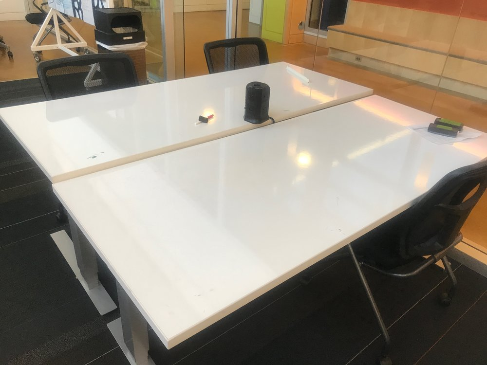 WhiteBoard Sitting/Standing Tables