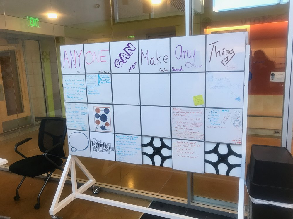 Movable McSquares on Full Rolling Whiteboard