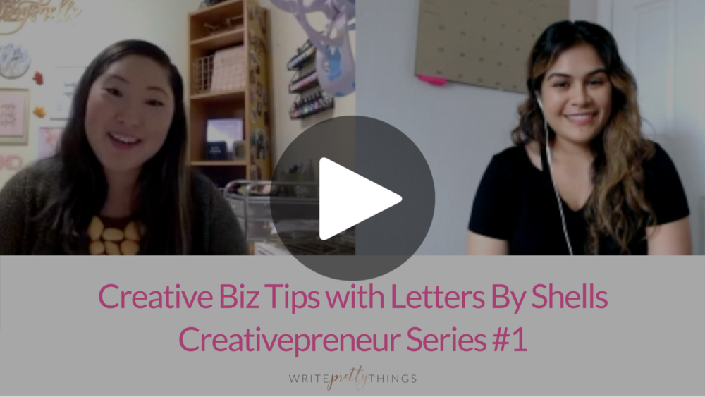creativepreneur interview write pretty things