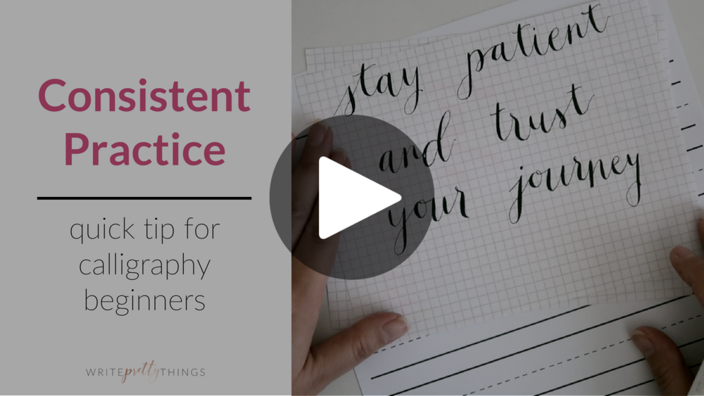 calligraphy tip