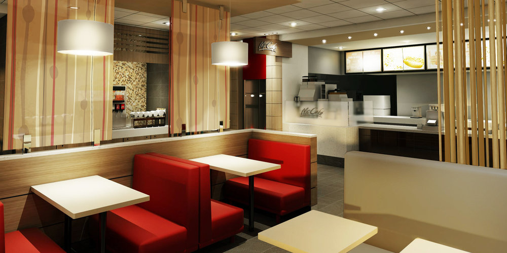 Design Main Street Restaurant McDonald