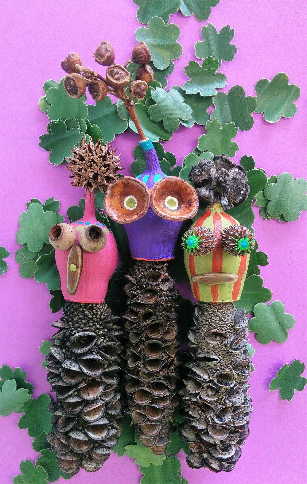 Banksia Friends by Karen Benjamin