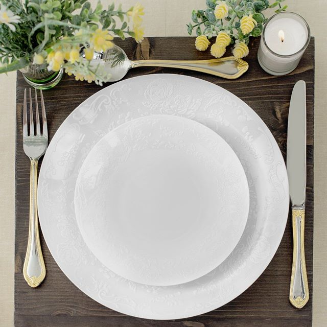 "Now offering a special discount for these designer party plates - only 0.27 per plate.  Stock is limited, get them now for your upcoming events.  How many do you want for this amazing price?  Learn more ==  https://mailchi.mp/936254fbf3…/party-plates-special-discount .  Embossed flowers white round party plates.  Elegant Disposable Plastic Dinnerware.  Hard & Reusable.Real China Look.  Available in 2 sizes - 7"" and 10"" . . . . . #partypiks #eventvendors #eventvendor  #partyplanner #partytime #party #eventplanner #weddingplanner #wedding #eventplanning #etsymntt #events #partyideas #eventprofs #bridal #bostondj #nycdj #eventdj #nycevents #bostonevents #barmitzvah #batmitzvah"