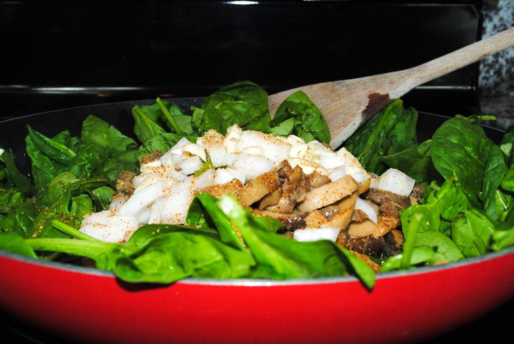 best spinach and garlic pasta recipe.JPEG