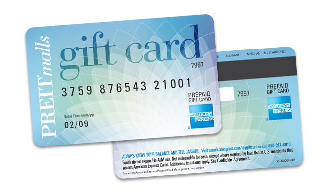 Shopping made easy cathy timmons design for the preit malls american express gift card worked with american express to adhere to brand standards and credit card regulations reheart Gallery