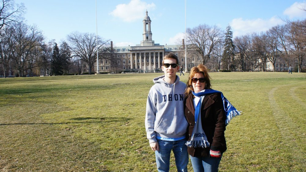 I studied chemical engineering at the Pennsylvania State University -