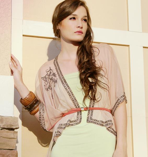 Model Jessica Sikosek.