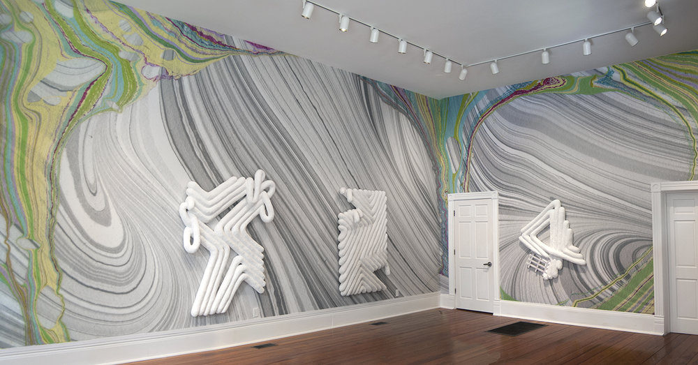 Installation view, 2015, Pinnacle Gallery, Savannah College of Art and Design, Savannah, GA
