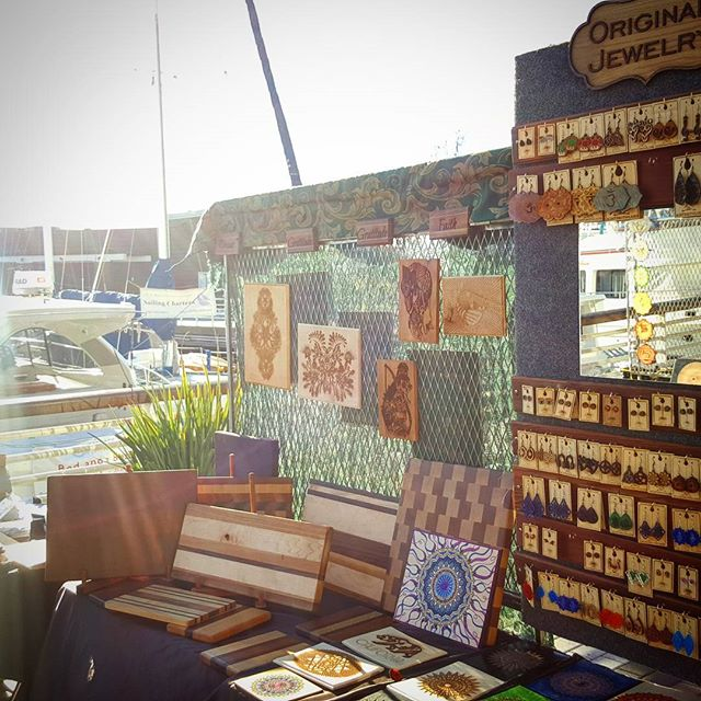 Come and find us at #jackofalltrades market today, we'll be selling our fine #sfmade #woodworking and #lasermade art. Its nice and sunny after the rains. #funinthesun #oakland #oaklandlove #fleamarket #oaklandartists #localartist #gotwood #artsy #secondsaturday #oaklandshit #shopoakland #jacklondonsquare