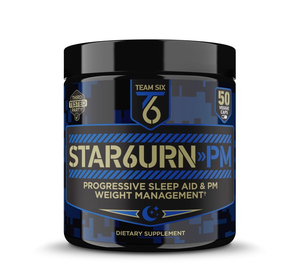 S    TAR6URN-PM | DUAL SLEEP AID AND PM FAT BURNING FORMULA