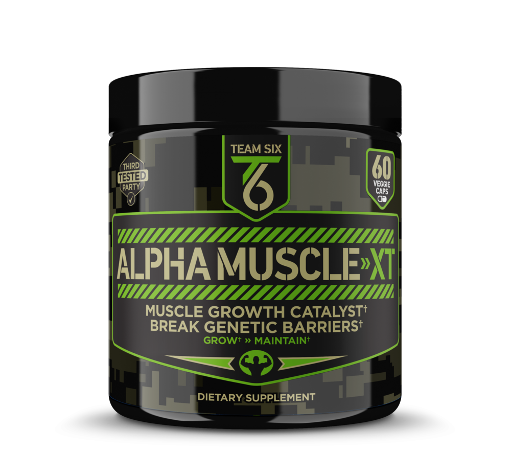 ALPHA MUSCLE-XT | TEST BOOSTER FOR MUSCLE BUILDING