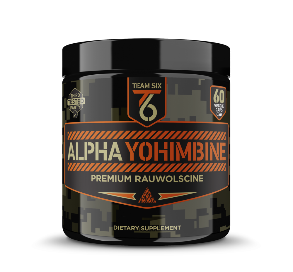 ALPHA YOHIMBINE |  STIMULANT AND PROVEN FAT BURNER