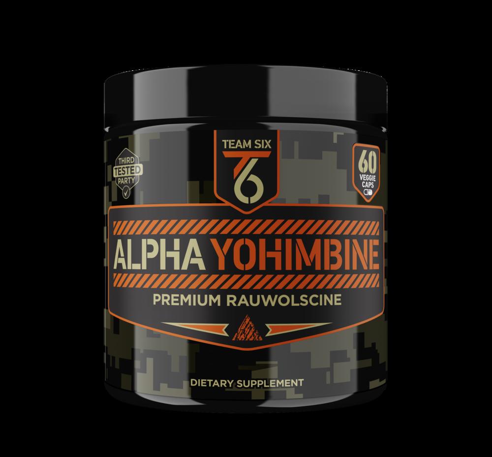 ALPHA YOHIMBINE | STIMULANT AND PROVEN FAT BURNER