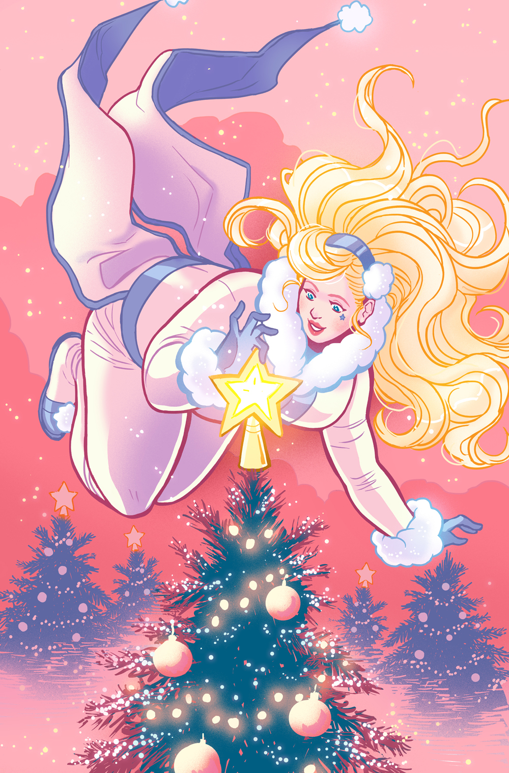 Faith Holiday Special variant-  Valiant comics