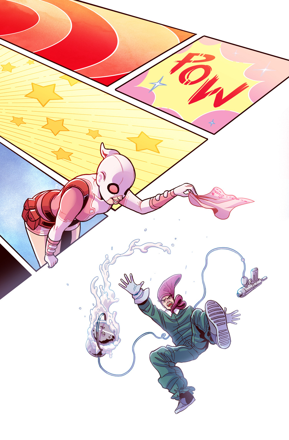 Gwenpool #21 cover- Marvel