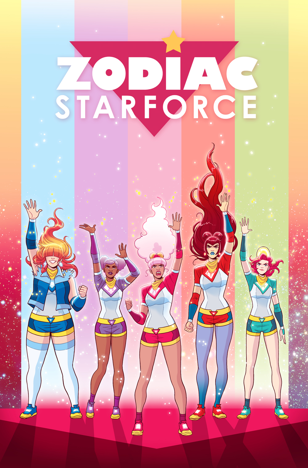 Zodiac Starforce: Cries of the Fire Prince #1 cover- Dark Horse comics