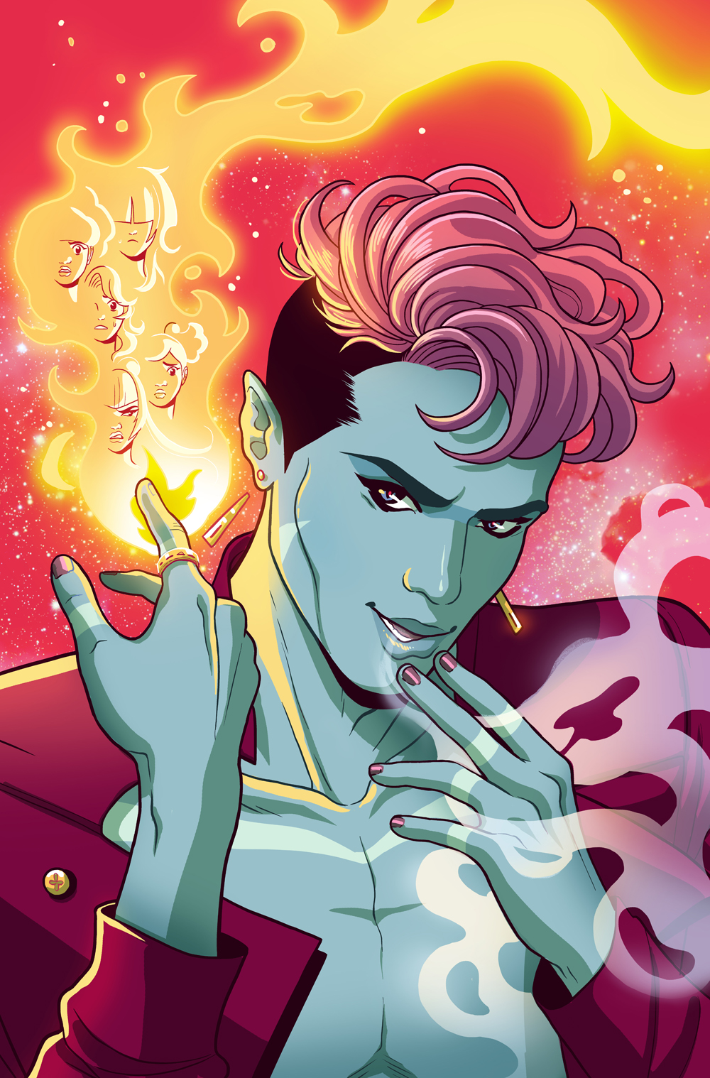Zodiac Starforce: Cries of the Fire Prince #2 cover- Dark Horse comics