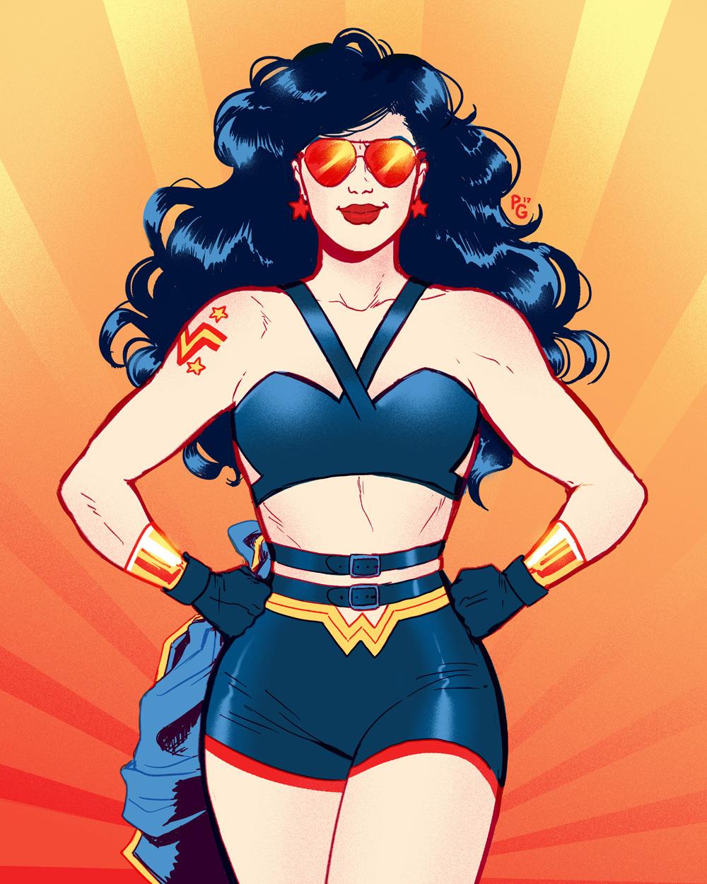90's Wonder Woman