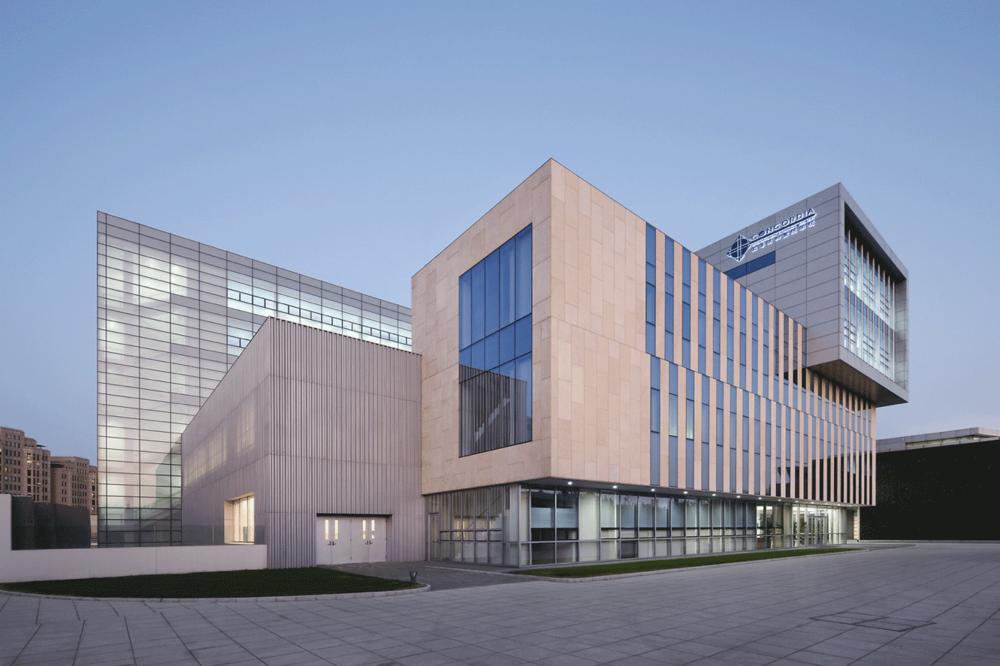 Campus of Concordia International School Shanghai