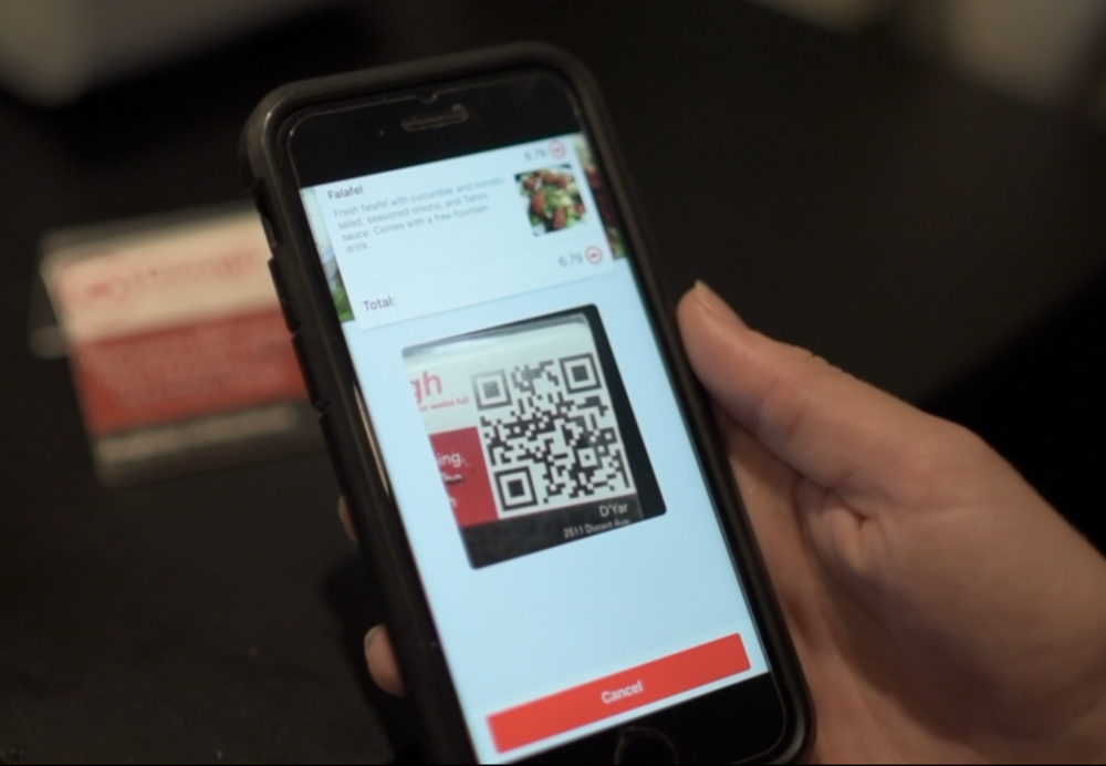 Scan To Pay - Using Dough is easy and fast — after making an account, simply add a credit card, select your meal, and scan a QR code to pay. Save money every time you eat and earn rewards with your friends!