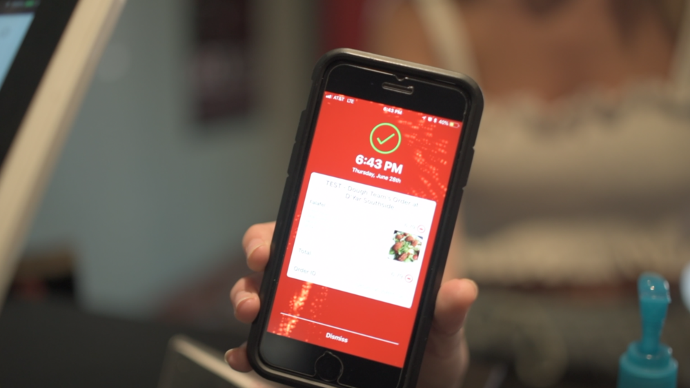 Quick & Simple - You don't need to tell the cashier which frat you're in, wait for them to understand what you mean, and watch as they find the right sheet for your house before you can order your food.With Dough, just scan the QR code at the register and enjoy your meal.