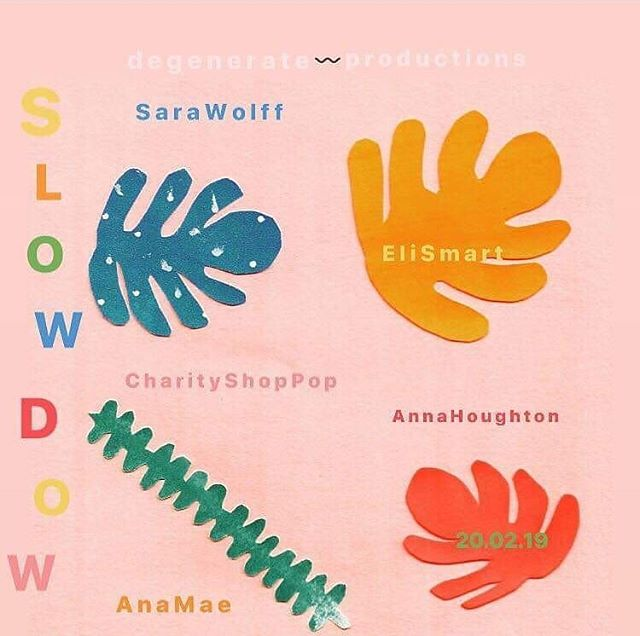 Slowdown Club tomorrow night at the @phaseonelpool !!! Lovely artwork by @annajaneillustration come down to chill, have a boogie and get cozy with us