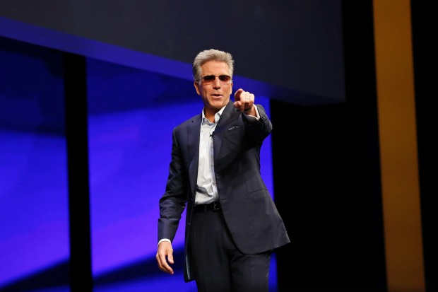 SAP CEO Bill McDermott said he viewed the advance of intelligent technology as an opportunity for humans and computers to combine and augment humanity, ushering in a new era of productivity. Darren Miller