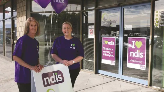 The NDIS is becoming one of the biggest drivers of new jobs. Source:Supplied