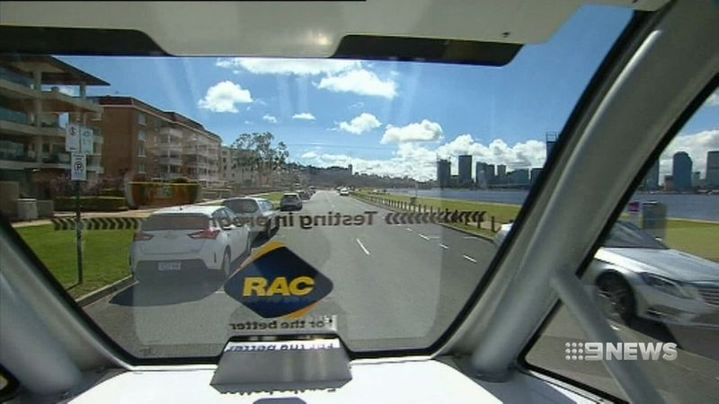 Driverless cars will be trialled on Perth roads. (9news)