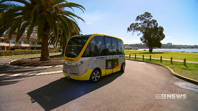The cars will follow the Intellibus which is already operating in Perth. (9news)