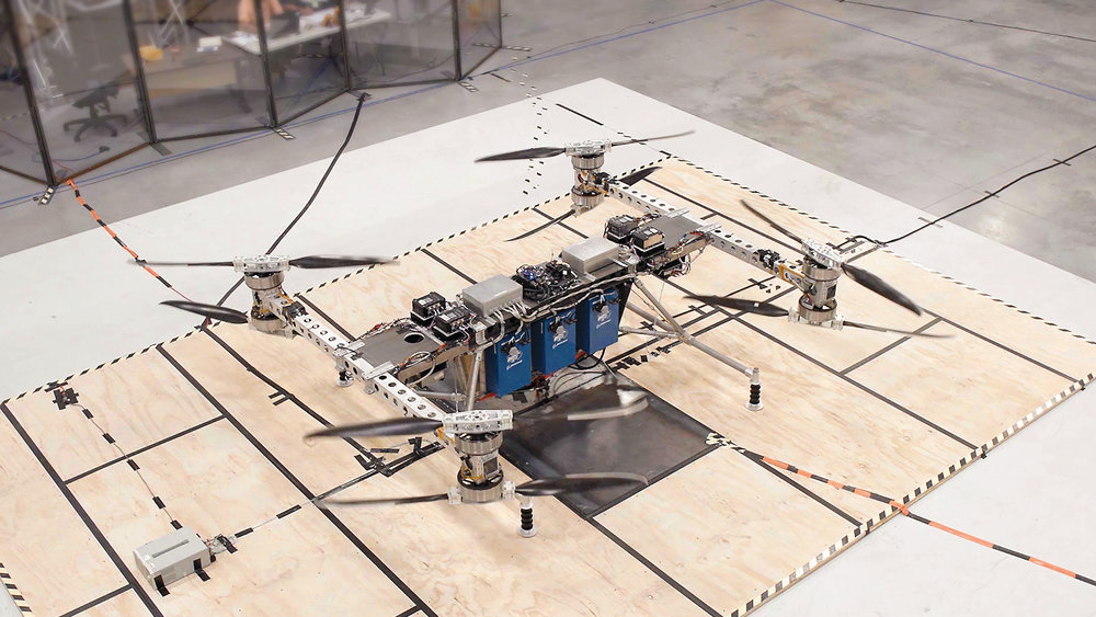 Earlier this year, Boeing unveiled a cargo drone capable of carrying 225 kg.