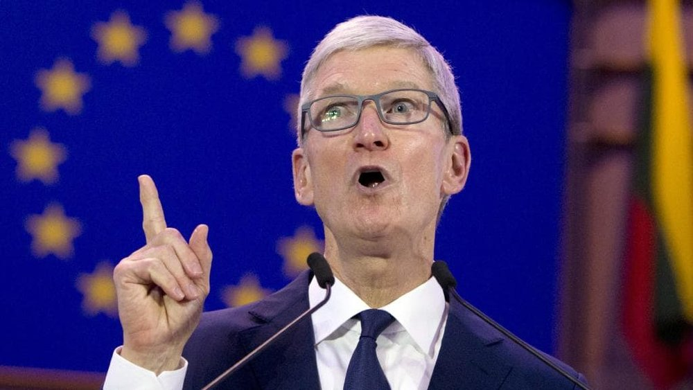 Apple CEO Tim Cook . Picture: Virginia Mayo