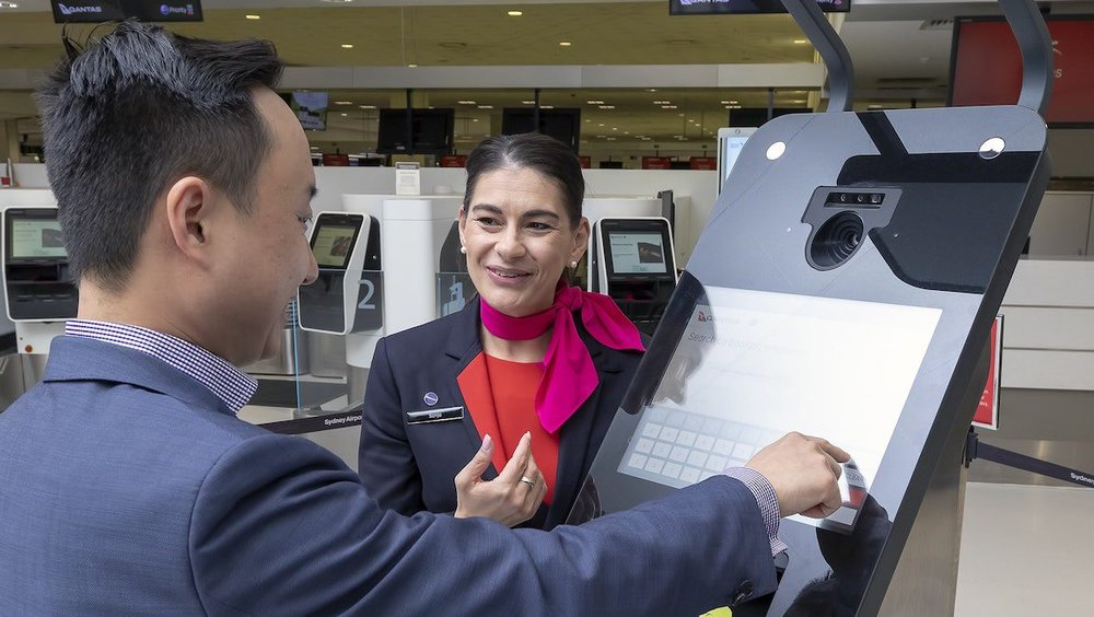 A checkin kiosk at Sydney Airport. (Sydney Airport)
