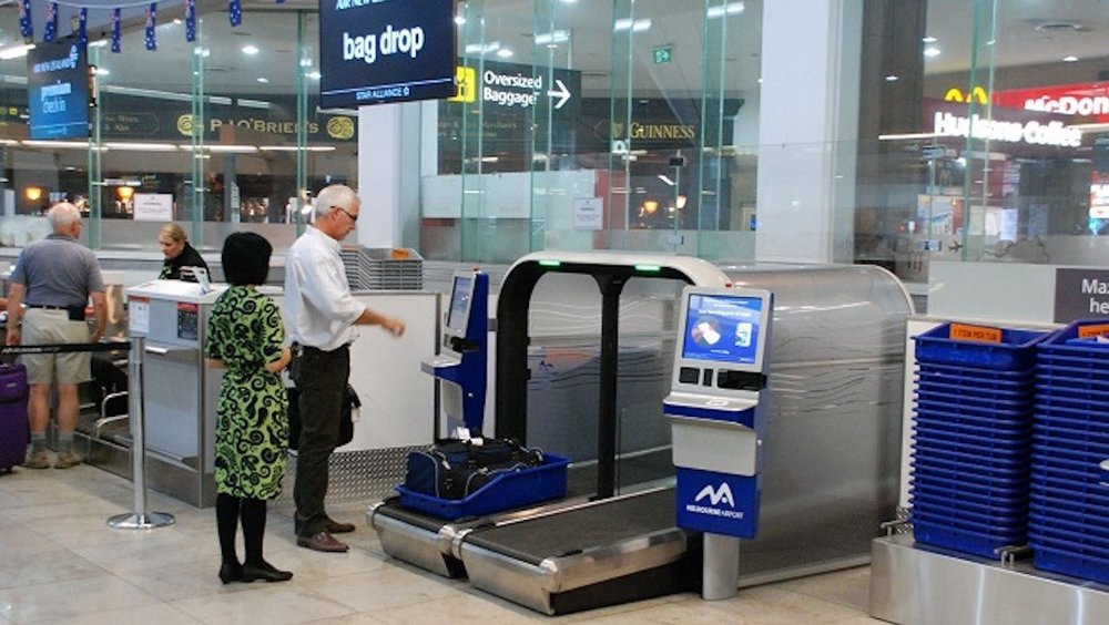 Bag drop technology in place at Melbourne Airport. (SITA)