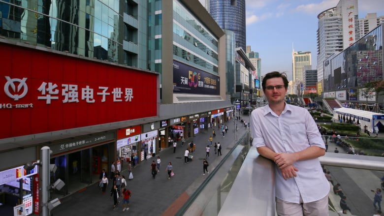 """""""You get things cheaper, you get things faster to market"""": Australian Mike Reed works as an engineer in Shenzhen. CREDIT: SANGHEE LIU"""