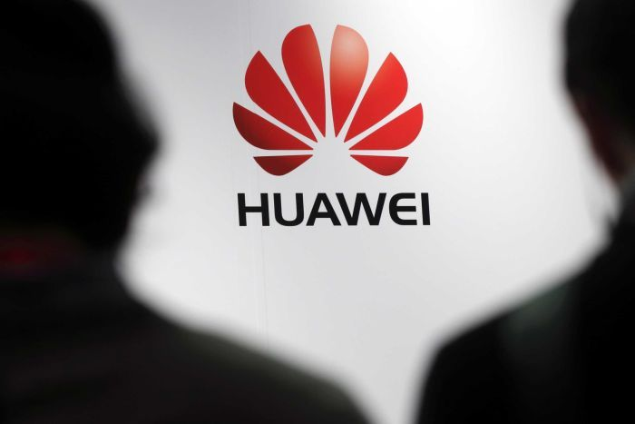 PHOTO:  The allegations against Huawei released in the US have intensified the trade dispute between the US and China.(Reuters: Philippe Wojazer)