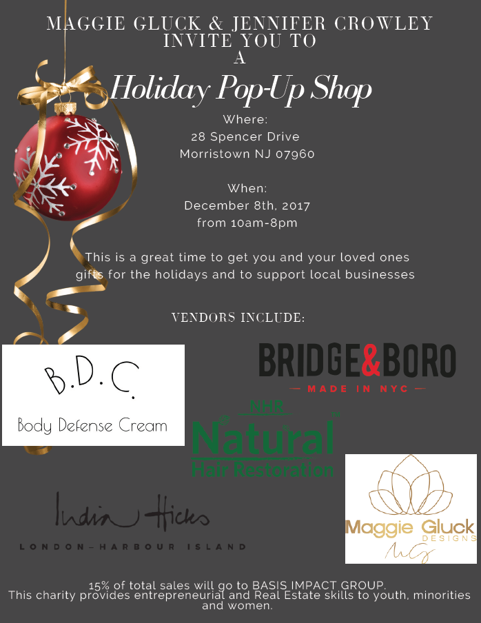 Maggie Gluck - Holiday Pop-Up Shop