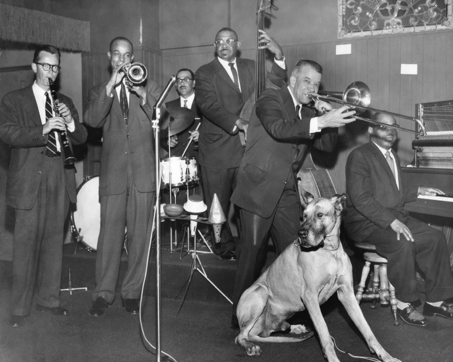 Kid Ory's Original Creole Jazz Band - photo courtesy of Christer Fellers