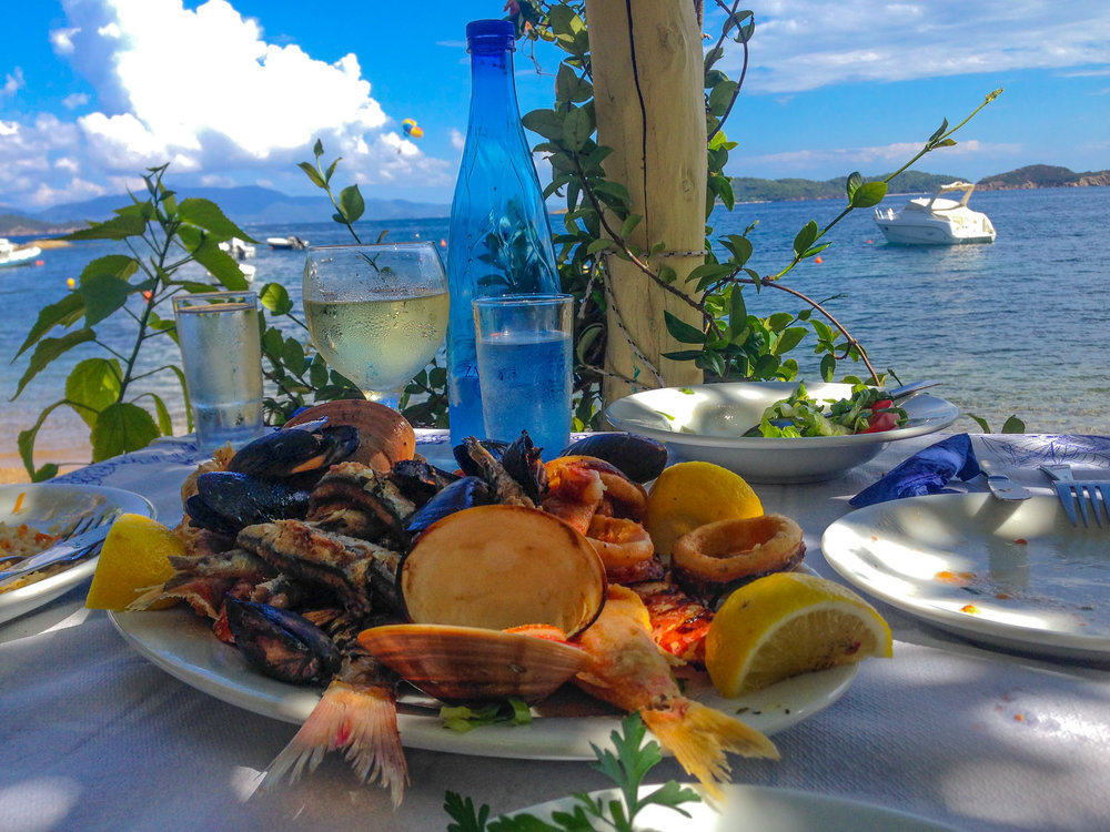 Seafood in Greece Photo by Linda Haggh.jpg